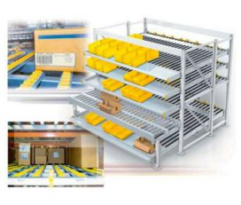 Carton live Racking ~p~ Advanced Warehouse Solutions
