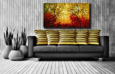 100% Handmade Oil Paintings On Canvas