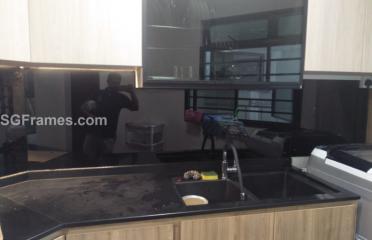 Kitchen Back splash Glass – Custom Size – Supply & Install
